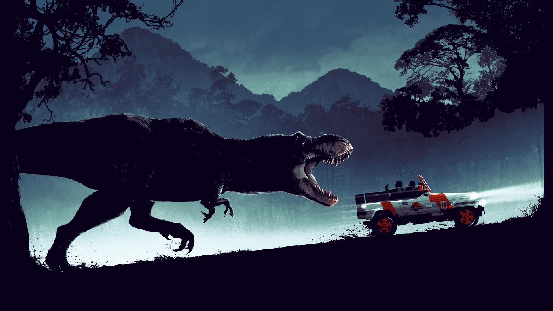 Jurassic Park fan art