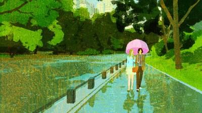 Un jour de pluie à New York