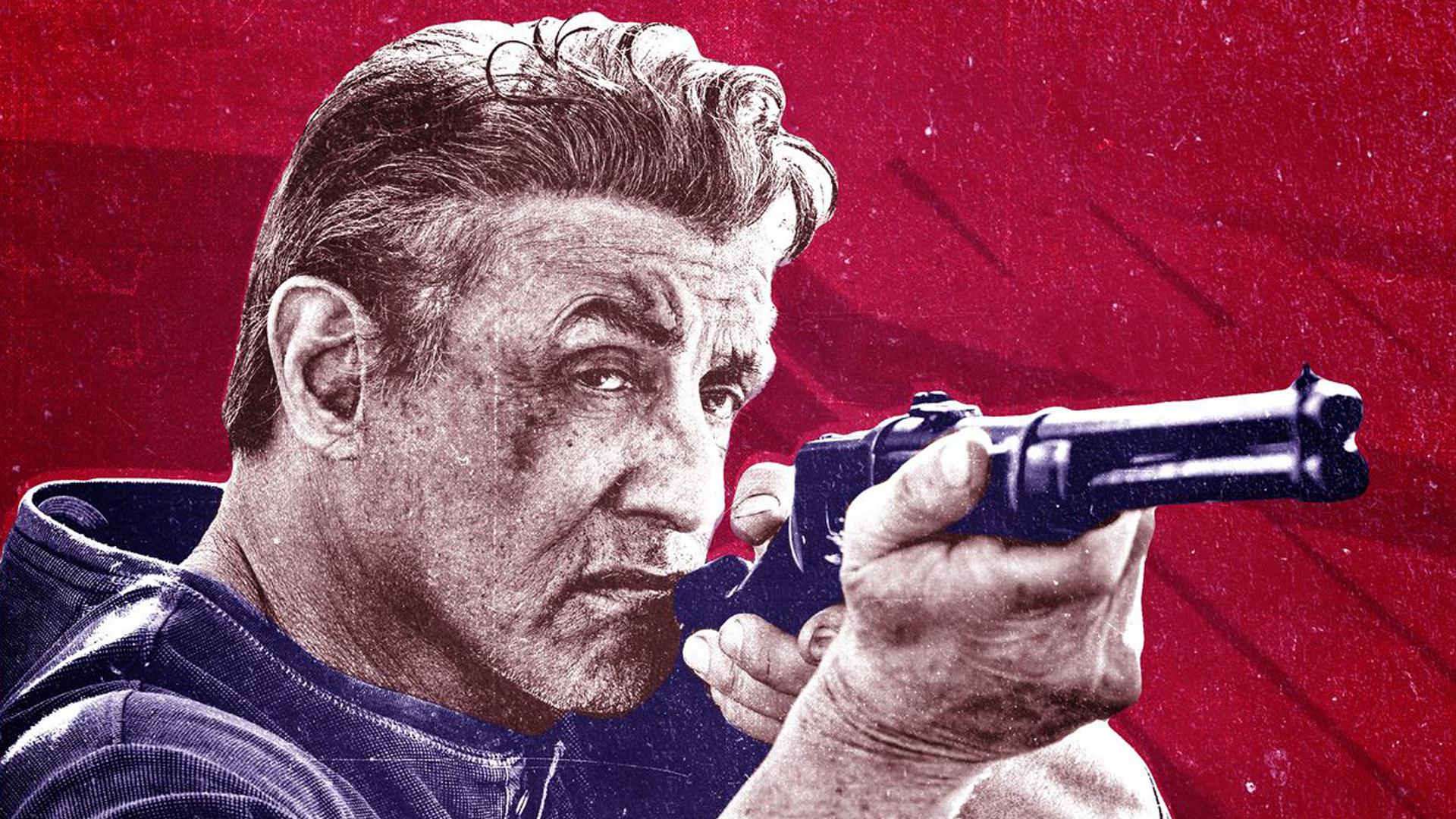 Rambo : Last Blood artwork