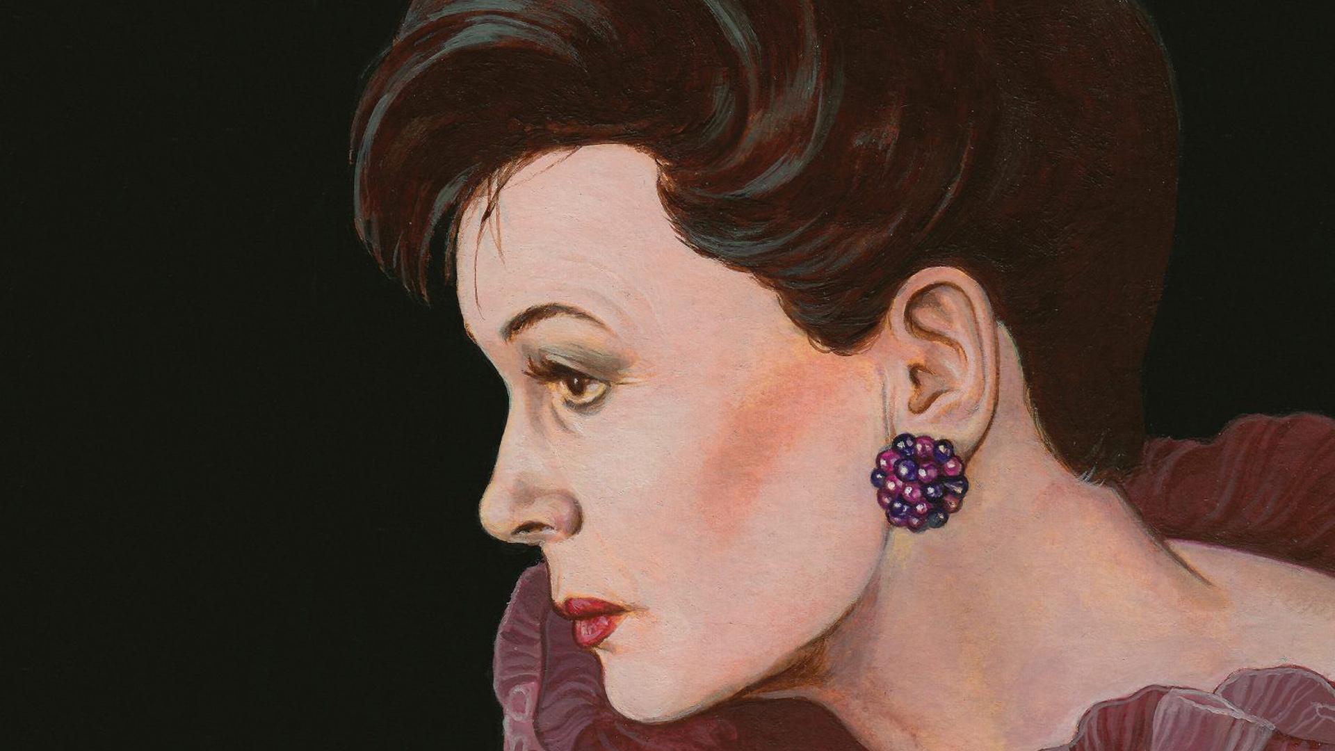 Judy movie artwork Pierre Mornet